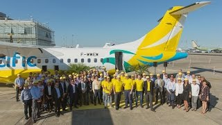 First ATR 72-600 HighCapacity Delivery to Cebu Pacific