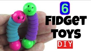 Download 6 EASY DIYS - DIY FIDGET TOYS - NEW FIDGET TOYS TO MAKE FOR KIDS USING HOUSEHOLD MATERIALS - TOYS Video