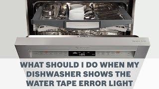Hotpoint, Indesit, Ariston dishwasher F02, F06, F07 error codes
