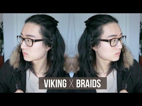 Easy Viking Braids - Men Medium/Long Hairstyle