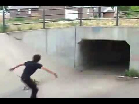 Crazy skateboard tricks