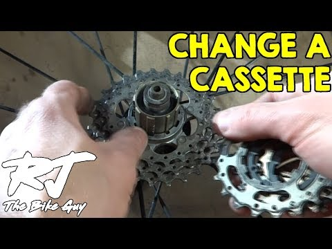 How To Change A Cassette On A Bike