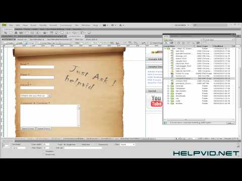 Dreamweaver Contact Page PHP Script Download