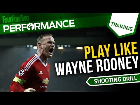 How to play like Wayne Rooney   Soccer shooting drill