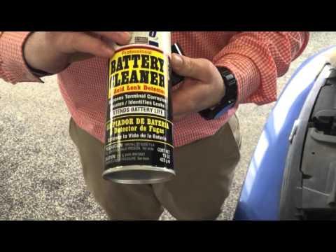 Battery Corrosion Buildup