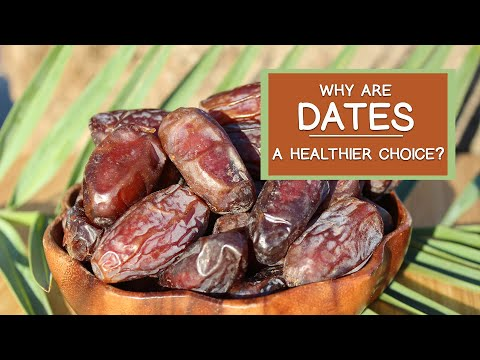 Date Fruit and Date Sugar, Why They're a Healthier Choice