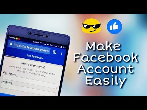 How to make Facebook Account in Smartphone || Easiest way || in Hindi