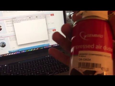 2016 Macbook Pro keyboard clicking sound Issue