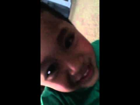 Troy's random recording on mummy's phone
