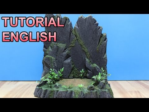 SMALL DISPLAY DIORAMA TUTORIAL