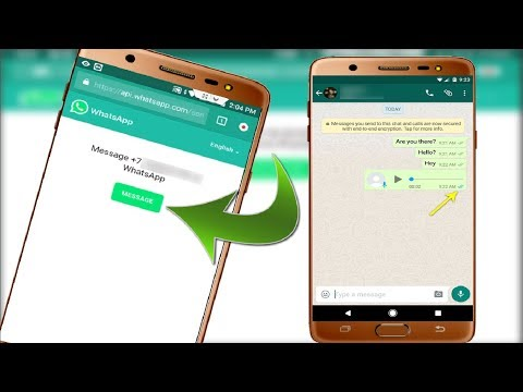 Know Send Whatsapp Messages without Saving Contact in Android without Using Any App 2018