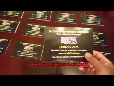 MAKE $4000 WITH THESE MCA FLYERS!