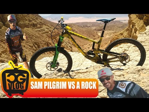 MOUNTAIN BIKER KILLED A ROCK IN JERUSALEM !!! - CG VLOG #318