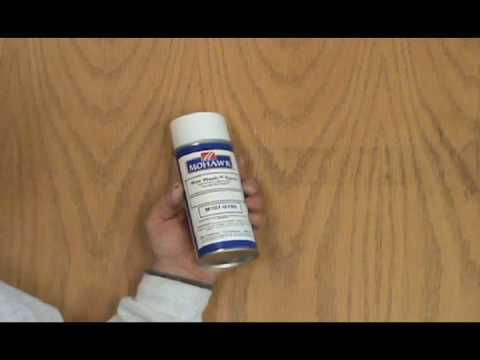Clean Glue and Adhesives from Wood