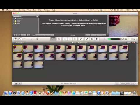 How to make a GIF / Picture Video in IMovie