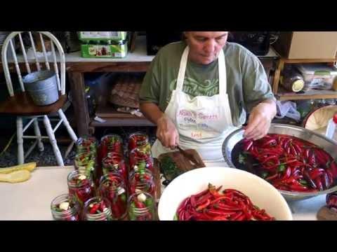 Making pepper sauce
