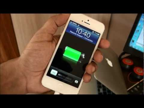 How to Enable Personal Hotspot on iPhone 5