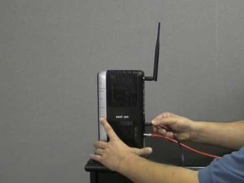 How to set up the MI424WR Verizon FiOS Router