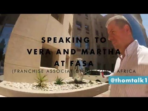 Interview 1 - Thom Talk - Franchising Association of South Africa (FASA)