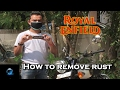 How to remove rust from your Royal Enfield | Autosol chrome polish | Bullet |