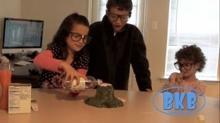 Bratayley Knows Volcanos (Science Experiments for Kids) BKB #1