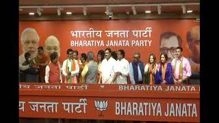 Download Some Eminent personalities #JoinBJP at BJP HQ in New Delhi. : 18.07.2019 Video