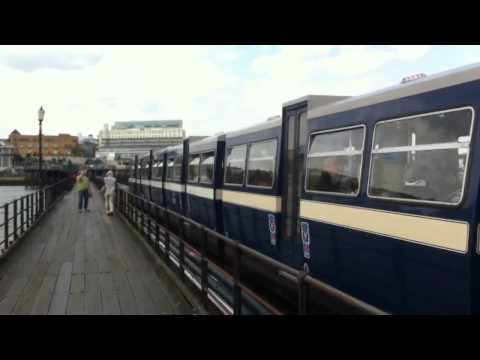 The train on Southend Pier