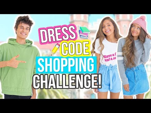 Boyfriend Buys Back To School Outfits For Girlfriend! SHOPPING CHALLENGE 2017!