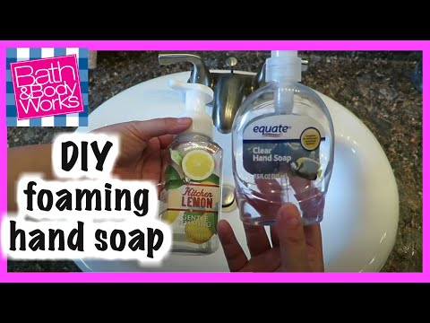 Foaming Hand Soap DIY