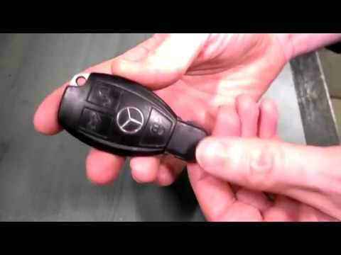 Mercedes Benz Key Fob Battery Replacement