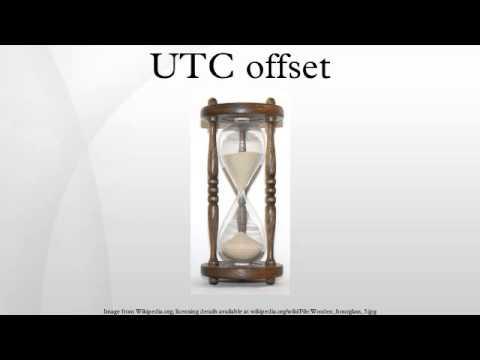 UTC offset