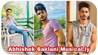 Abhishek Saklani New Awesome Musical.ly Videos | Musical.ly India