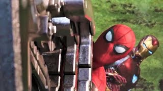 Download Spiderman And Ironman All Fight Scene (HD) | Avengers Infinity War Movie Scenes | Video