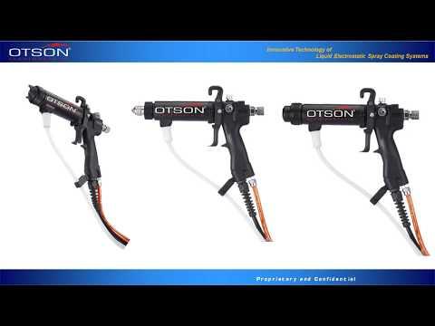 Manual Liquid Electrostatic Spray Gun  LED Version  G2
