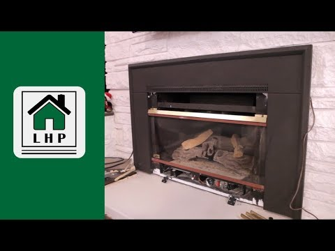 Gas Fireplace Cleaning and Assembly - LHP