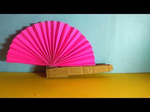 DIY | Paper fan !!!!!