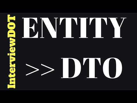 ENTITY TO DTO CONVERTION USING MODELMAPPER