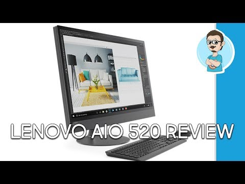 Lenovo IdeaCentre AIO 520 27inch Hands On Review!