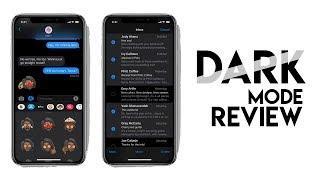 iOS 13  Dark Mode - Review