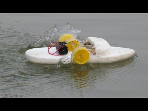 Cara Membuat Perahu Bertenaga Listrik
