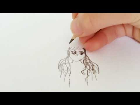 How to Sketch a Simple Cartoon Girl by DIY Supergirl