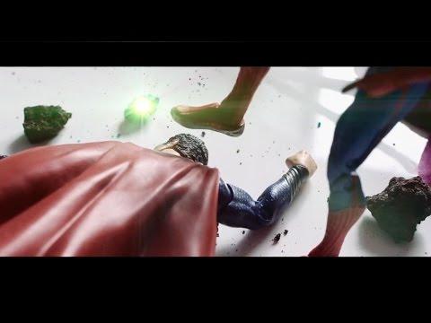 Superman VS Spiderman ( Man of Steel, Avengers, Justice League, Fight )