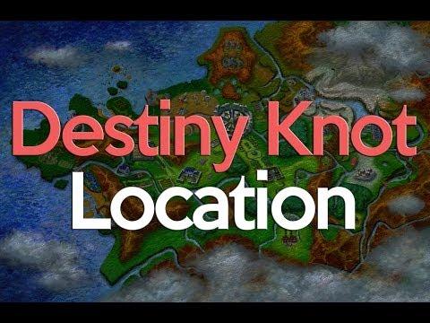 Pokemon X and Y Destiny Knot Location
