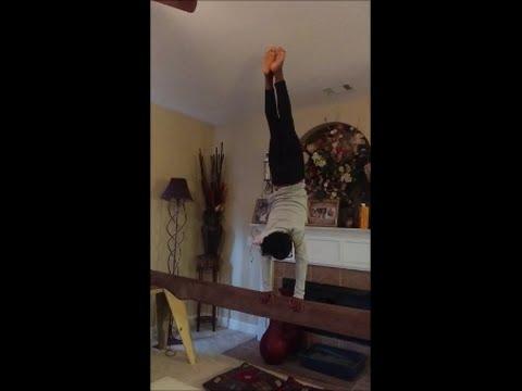 DIY Homemade Balance Beam 16 ft - $35 - No Power Tools!
