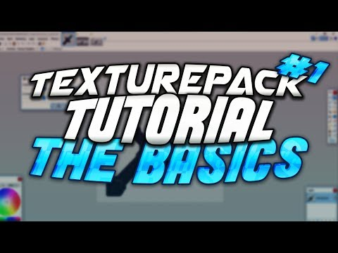 Texture Pack Tutorial #1: The Basics & 32x Sword Tutorial!