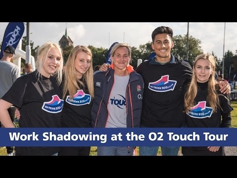 Work Shadowing at the O2 Touch Tour