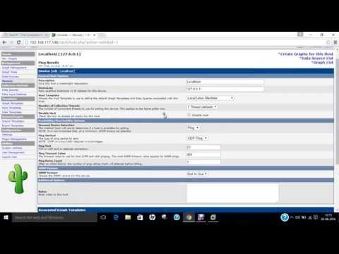 How to Install Cacti Network Monitoring Tool on Ubuntu 16.04