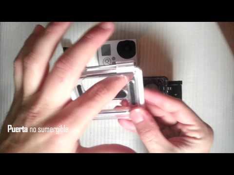 Consejo #1 GoPro Hero 3: Cambiar carcasa trasera (Change Back Door)