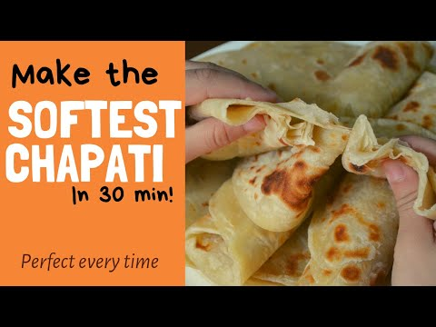 PERFECT SOFT, LAYERED CHAPATI | EAST AFRICA