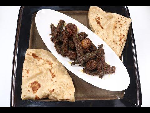 Bharwan Bhindi   Simple Vegetarian Khana With Chef Saurabh   Sanjeev Kapoor Khazana